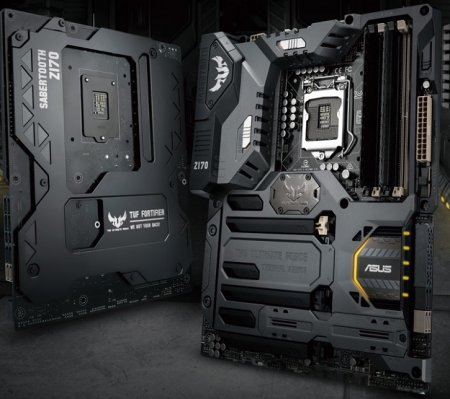 Пополнение в линейке системных плат Asus The Ultimate Force: TUF Sabertooth Z170 Mark 1