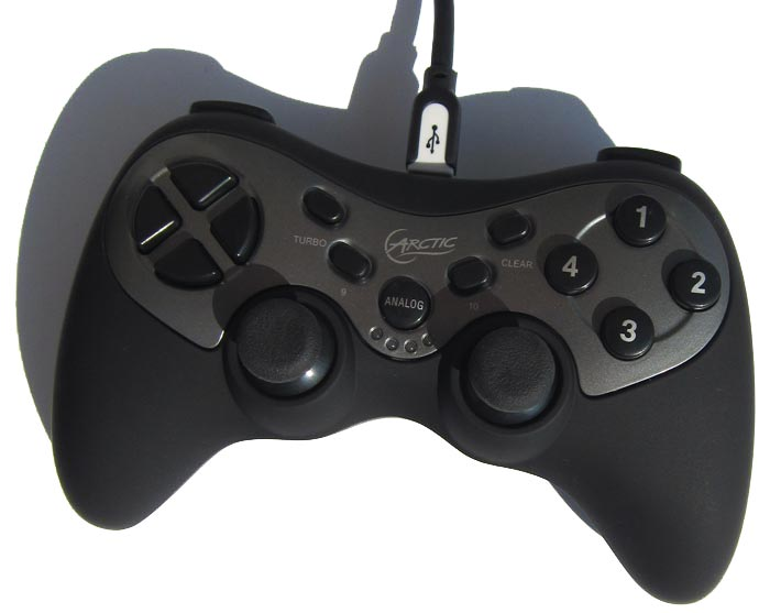 Лампочки под Analog Wireless Gamepad
